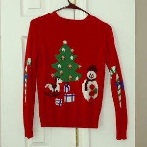 Forever 21 Sweaters - Ugly Christmas sweater with bells